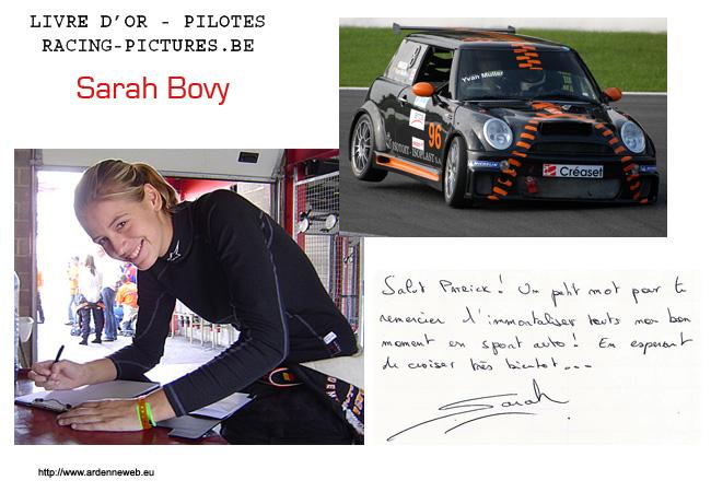 Sarah Bovy