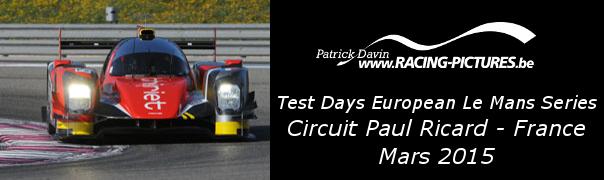 Test Days European Le Mans Series