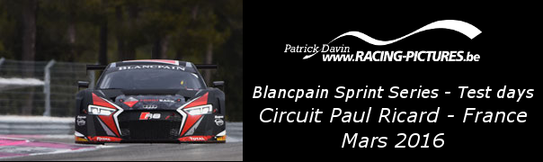 Blancpain Sprint Series – Test days