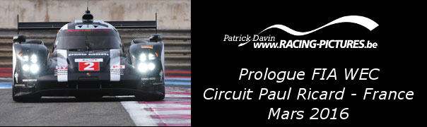 Prologue FIA WEC