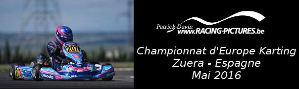 Championnat d'Europe Karting – Zuera – Espagne