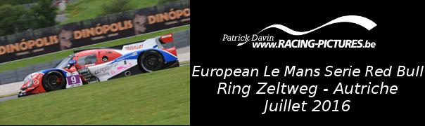 European Le Mans Serie Red Bull – Ring Zeltweg – Autriche