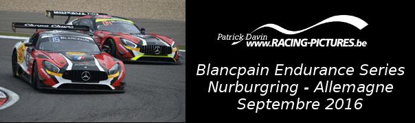 Blancpain Endurance Series – Nurburgring – Allemagne