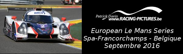 European Le Mans Series – Spa-Francorchamps – Belgique
