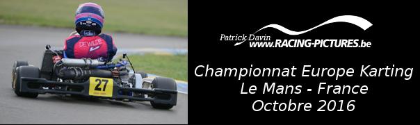 Championnat Europe Karting – Le Mans – France