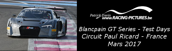 Blancpain GT Series – Test Days