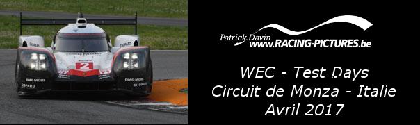 WEC Test Day Circuit de Monza